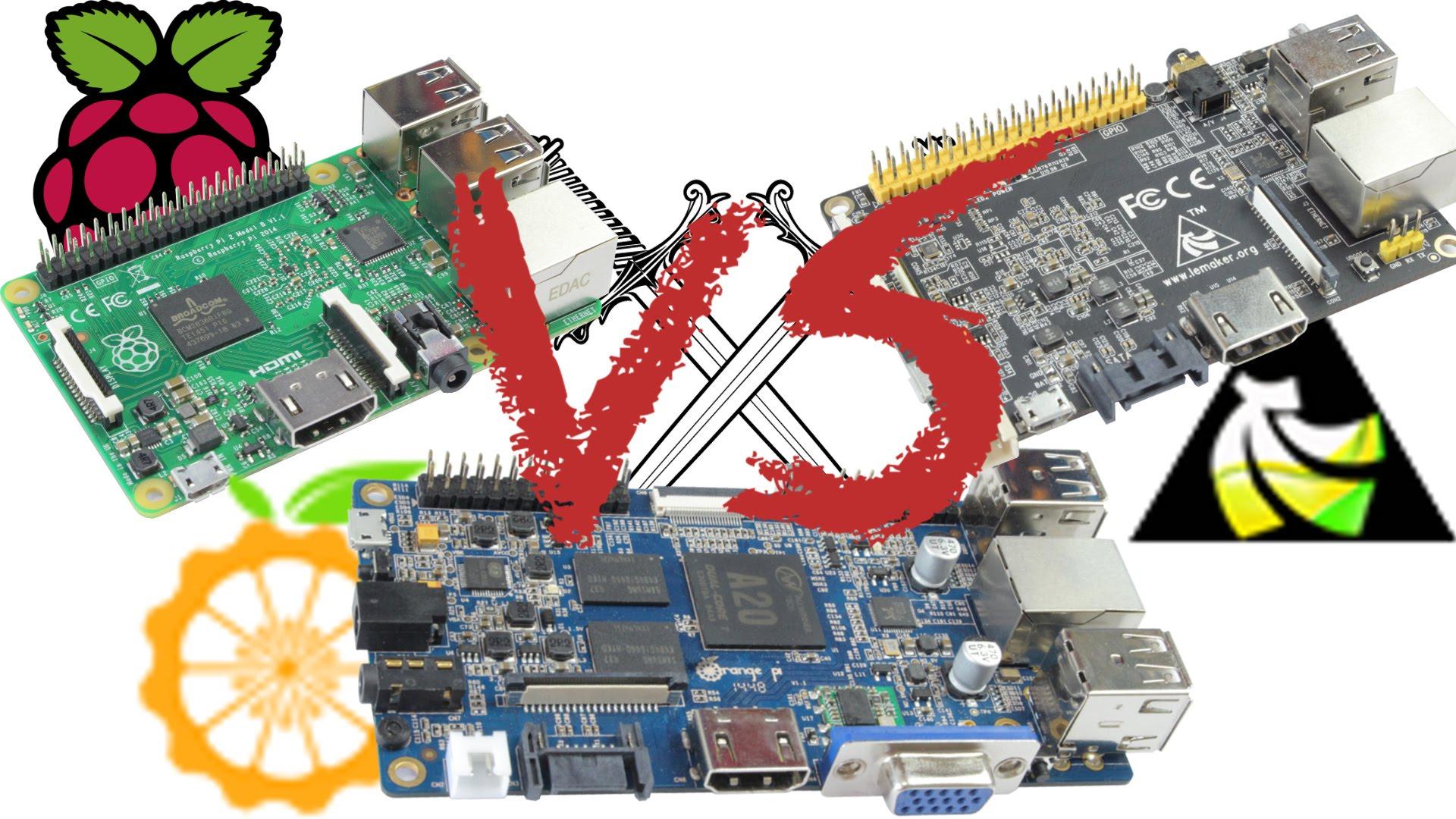 Raspberry Pi 2 VS Orange Pi VS Banana Pro post thumbnail image